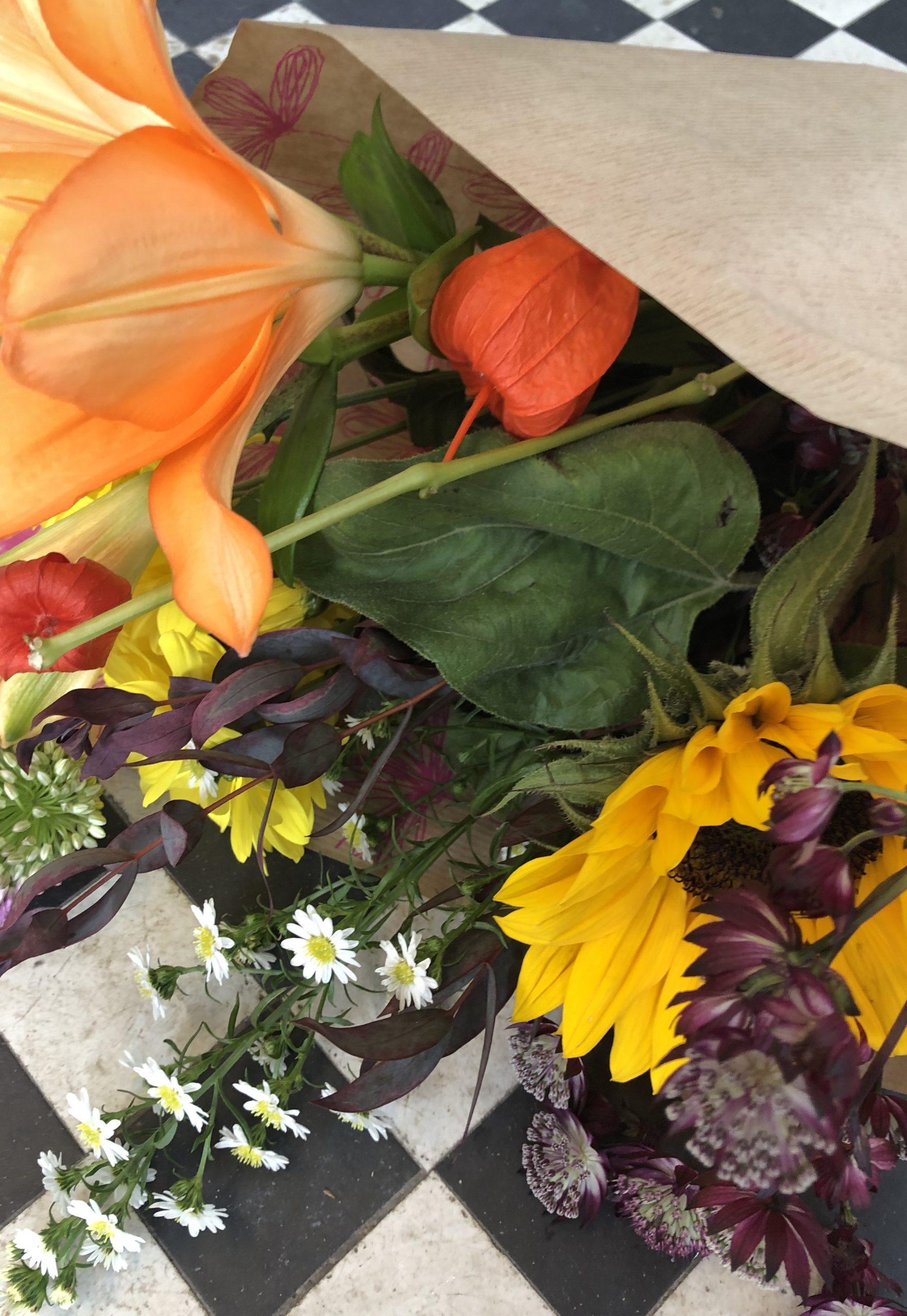 bouquet of fresh seasonal kentish flowers  order today